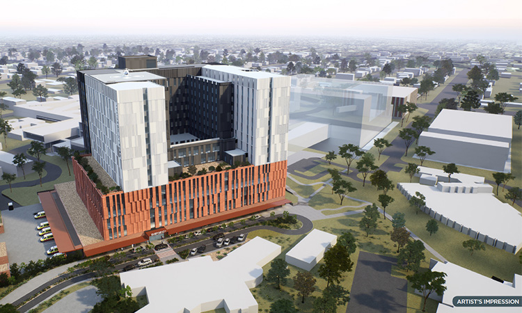 Artist impression of new Nepean Hospital